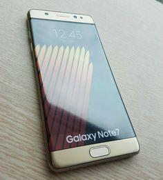 Fotos del Samsung Galaxy Note 7 un día antes de ser lanzado - http://www.actualidadgadget.com/fotos-del-samsung-galaxy-note-7-dia-lanzado/