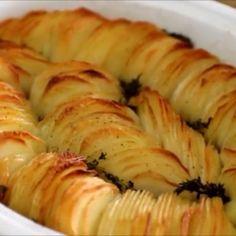 les meilleures pommes de terre rôties croustillantes |Délices de cuisine