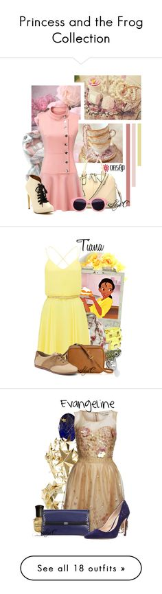"""""""Princess and the Frog Collection"""" by rubytyra ❤ liked on Polyvore"""