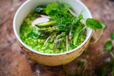 asparagus risotto verde