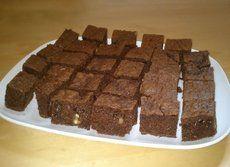 Brownie sin mantequilla