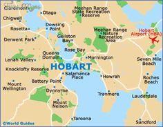awesome Hobart Map