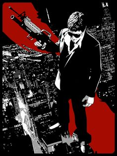 Scarface - Stephen Sampson (aka The Dark Inker) ----