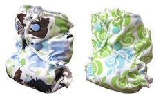 APPLECHEEKS - Cloth Diaper Cover NEW PRINTS // I'm not a big fan of Applecheeks because they look exactly like the AMP envelope style diapers. Only instead of the pocket opening being at the front its in the middle i think? But the prints are cute they also come in there small wetbags