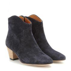 Isabel Marant - Dicker suede ankle boots  - mytheresa.com