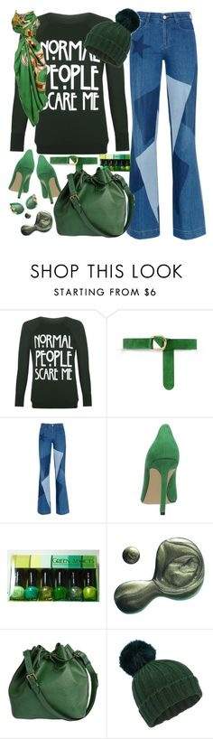"""normal people scare me"" by harleenquinzelx ❤ liked on Polyvore featuring beauty, WearAll, Barbara Bui, STELLA McCARTNEY, Nine West, Illamasqua, Louis Vuitton, Miss Selfridge, Hermès and Dolce&Gabbana"