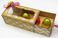 How to make an Easter Egg Gift Box using my Pazzles Inspiration