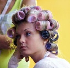 Sleep In Hair Rollers, Roller Curls, Wet Set, Hot Rollers, Hair Setting, Roller Set, Perms, Curlers, Vintage Glamour