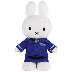 Miffy 'Nijntje' in KLM uniform