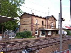 Hemsbach: Bahnhof