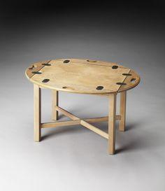 Butler Carlisle Driftwood Butler Table Model