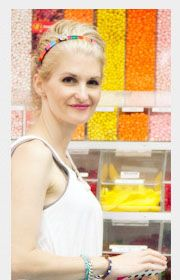 Easy, Step by Step Photo Tutorial: Colorful Crafted Headband with Bonbons