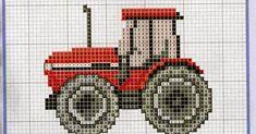 Cross Stitch For Kids, Cross Stitch Baby, Cross Stitch Charts, Cross Stitch Patterns, Boys Knitting Patterns Free, Baby Knitting, Cross Stitching, Cross Stitch Embroidery, Image Pixel Art