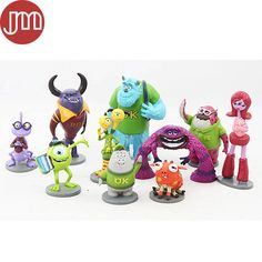 Find More Action & Toy Figures Information about New 10pcs Monsters Inc. Monsters University Mike Sully Randall Mini Action Figures Toys Minifigures Anime Cake Toppers Kids Gift,High Quality gift cow,China gift shop Suppliers, Cheap gift toys for kids from M&J Toys Global Trading Co.,Ltd on Aliexpress.com