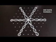 Daily sikku rangoli design with 9 dots*Kambi kolam with 9 dots*Melikala muggulu*ಬಳ್ಳಿ ರಂಗೋಲಿ Rangoli Designs Latest, Simple Rangoli Designs Images, Rangoli Designs Flower, Rangoli Kolam Designs, Rangoli Ideas, Rangoli Designs With Dots, Kolam Rangoli, Rangoli With Dots, Beautiful Rangoli Designs