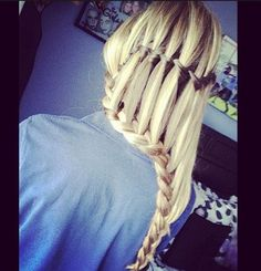 what a lovely ladder braid