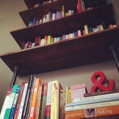Plumbing Pipe Bookshelf - The EGG