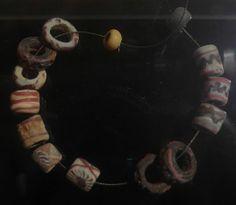 Glass Beads, Viking Age about 800-1050, Gulli, Norway