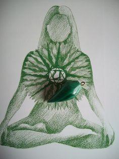 Visionary Art, Heart Chakra, Stones And Crystals, Reiki, Yoga Fitness, Minerals, Zen, Magick, Fine Art