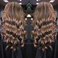 Caramel mocha balayage by Ashton @ Splat Hair Design