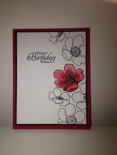 stampin up fabulous florets | Stampin Up Fabulous Florets. | Stampin Up and Card Ideas | Pinterest