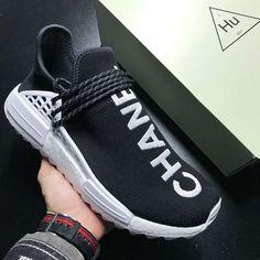 0a7e77608 Chanel x Pharrell Williams x adidas NMD Human Race Hu Trail Adidas Nmds