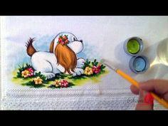 Cachorrinho em Tecido (Aula 32) - YouTube