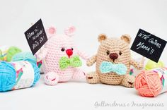 9 patrones amigurumi gratis para tejer muñecos, en español. Patrones amigurumi di animales, muñecos para bebés, Minions, etc.