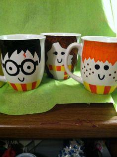 The Boy Who Brewed a Harry Potter inspired Mug by SeasonoftheGeek