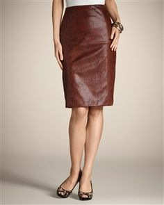 So I know that Chico's is not exactly designed for my age group, but I saw this skirt on a commercial today and want it.