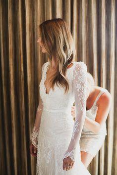 Long Sleeve Wedding Gowns On Pinterest Bridal