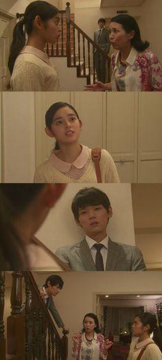"""Kotoko le dice a la Sra. Irie que desde ese día ayudará donde su padre. Naoki la molesta sobre ser chef. Kotoko: """"Serviré mesas. Kin puede enseñarme"""". Naoki: """"Así que fue como una cita"""". Kotoko: """"No mezclo mi vida amorosa con trabajo como otros"""". Naoki: """"Eso depende de quien estés hablando"""". Kotoko: """"Mejor disculpate con Kin"""". Naoki: """"Tenía razón"""". Kotoko: """"Incluso si es así. No es tu asunto"""". Naoki: """"No me interesa tu vida amorosa"""" - Itazura na Kiss Love in Tokyo Ep 15"""