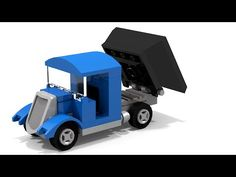 How to Build a Small Vintage Lego Lorry (MOC) - YouTube