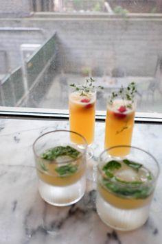 two boozy lemonade recipes // the stripe.