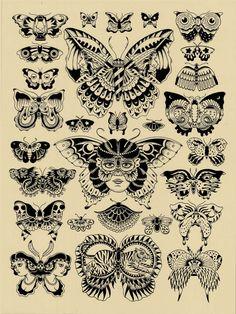 Butterflies by Kyler Martz. $25.00, via Etsy.