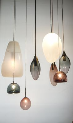 Cluster of Pendant Lights  MARKDOUGLASS DESIGN  240 Burnley Street, Richmond, Victoria www.markdouglassdesign.com +61 414 540 110