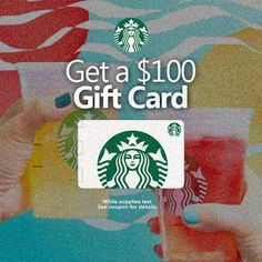 To Celebrate Summer Get a Starbucks $100 Gift Card and Treat Dad On Us! Simply Click The Link or Image Above To Claim Yours Before They Are All Taken!