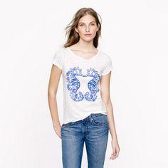 J Crew Kissing Seahorse shirt. Everyone loves this one :)