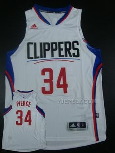 http://www.yjersey.com/nba-clippers-34-paul-pierce-white-2015-new-rev-30-jersey-hot-printed.html #NBA #CLIPPERS 34 PAUL PIERCE WHITE 2015 NEW REV 30 JERSEY (HOT PRINTED)Only$41.00  Free Shipping!