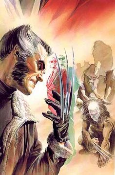 Paradise X cover by Alex Ross