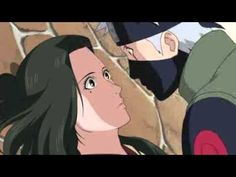 Shippuden moment - Kakashi and Hanare Kiss scene - Naruto Shippuden 191(:
