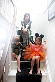 At home with... Christina Hutson & kids