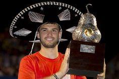 Grigor Dimitrov wins Acapulco title. (Mextenis)