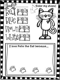 Well, I gotta tell ya - my love affair with Pete the Cat goes way back. It has been a year since I first discovered him and in all that time...