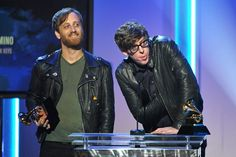 The Black Keys winning at The Grammys