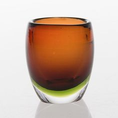 TAPIO WIRKKALA - Glass vase 3570 (h. 7 cm) for Iittala, Finland. In the production 1954-1955.