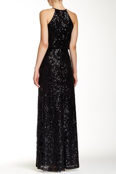 Jessica Simpson | Sequined Gown | Nordstrom Rack