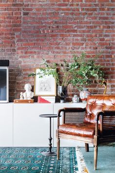 El sueño vintage de la interiorista Jae Joo en Nueva York - Muros desnudos   Galería de fotos 4 de 10   AD MX