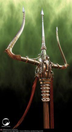 Poseidon\'s Trident by Carlos Agell | 3D | CGSociety