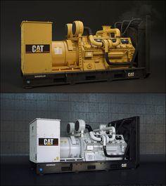 // Diesel generator by Igor Kulkov